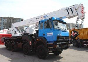 Красавец автокран КС-65720-1